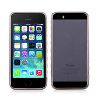 MOMAX Aluminum Frame Protective Case Cover For Apple iPhone 5 5S - BLUENYLEDIRECT