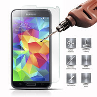 Ultra Thin Real Premium Tempered Glass Screen Protector Film Case for Samsung Galaxy S3 S4 S5 S6 S5 A3 A5 A7 A8 - BLUENYLEDIRECT