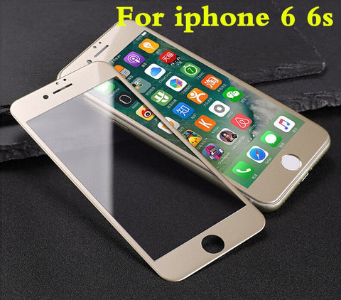 9H 0.26mm 3D Curved Soft Plastic Edge Coated Tempered Glass For iPhone 7 Plus - BLUENYLEDIRECT