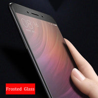 9H Frosted Tempered Glass Film For Xiaomi Redmi 3 Pro Matte Screen Protector - BLUENYLEDIRECT