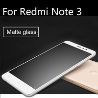 9H 2.5D Frosted Tempered Glass For XiaoMi RedMi Note 3 pro Note3 Screen Protector - BLUENYLEDIRECT