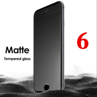 9H Matte Tempered Glass For iphone 6 6s Screen Protector Frosted Glass - BLUENYLEDIRECT