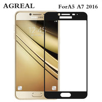 Samsung Galaxy A5 2016 A5100 3D Curved Edge Full Cover Premium Tempered Glass - BLUENYLEDIRECT