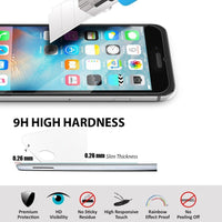 "iPhone 6S 2.5D 9H Premium Tempered Glass Screen Protector for iPhone 6 Anti Shatter Toughened Protective Film 4.7 "" - BLUENYLEDIRECT"