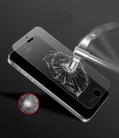 Fingerprint Premium Tempered Glass Screen Protector For iphone 5 5C - BLUENYLEDIRECT