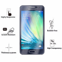 Tempered Glass for Samsung Galaxy A3 Screen Protector 9H 2.5D Protection - BLUENYLEDIRECT