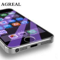 Tempered Glass For Apple iphone 5 5c Screen Protector Anti Blue Light Clear 9H - BLUENYLEDIRECT