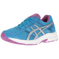 ASICS Womens Gel-Contend 4 Low Top Lace Up Running Sneaker - BLUENYLEDIRECT