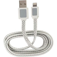 Ar USB Lightning Cable Wht - BLUENYLEDIRECT
