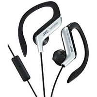 Sport Earclip With Mic  Silver - BLUENYLEDIRECT