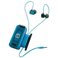 Fitness Earbuds Black Blue - BLUENYLEDIRECT