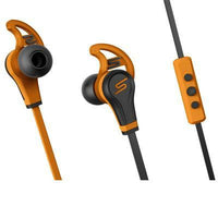 In Ear Wired Hdphones Orange - BLUENYLEDIRECT