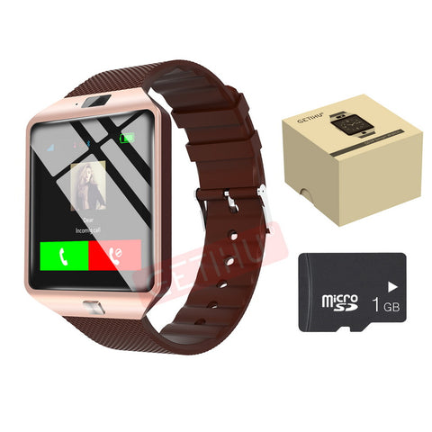 DZ09 U8 Smartwatch Intelligent Smart Sport SIM Digital Electronics Wrist Phone Watch With Men For Apple Android Wearable Devices