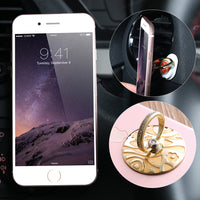 360 Degree Metal Finger Ring Mobile Phone Stand Holder For iPhone Samsung Xiaomi Smart Phone GPS MP3 Car Mount Stand - BLUENYLEDIRECT