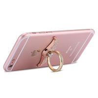360 Degrees Finger Ring Car Mount Magnetic Metal Stand Holder Case For iPhone For Samsung HTC For LG For Sony Huawei - BLUENYLEDIRECT