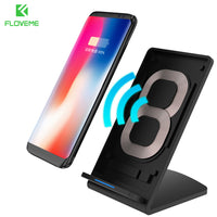 5V 2A Qi Wireless Charger For Samsung Galaxy S8 Plus S7 Edge Fast Charging Charger For iPhone X iPhone 8 8 Plus Charge - BLUENYLEDIRECT