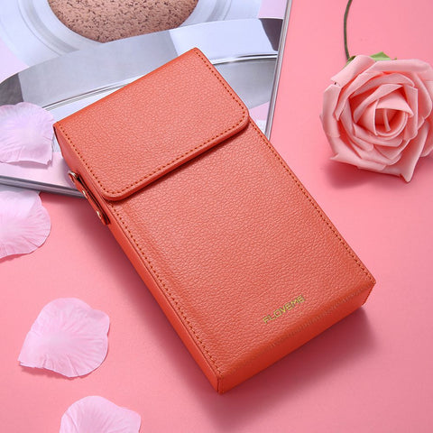 Crossbody Wallet Bag Leather Case For iPhone 6 6S iPhone 8 Messenger Bag Women Accessories Cases For iPhone 7 5 5S SE - BLUENYLEDIRECT