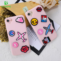 Cute Cartoon 3D Cover For iPhone 6 6S 7 Plus Phone Case Soft Silicon Cases For iPhone 7 6 6S Lovers Coque Accessories - BLUENYLEDIRECT