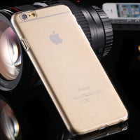 For iPhone 6 6S Plus Clear Case Fashion Crystal Hard Plastic Phone Cover For Apple iPhone6 6S Plus 4.7&5.5 Transparent - BLUENYLEDIRECT
