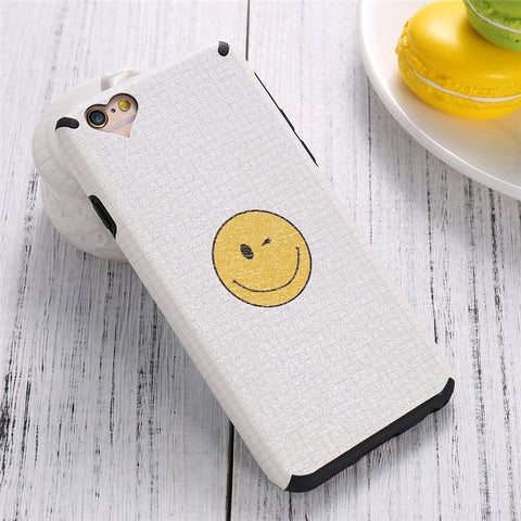 For iPhone 6 6S Plus iPhone 7 Plus Case Funny Cute Print Silicon Phone Cases For iPhone 6 6S Cover Fundas Accessories - BLUENYLEDIRECT