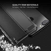 iPhone 7 6 6S Plus Anti-knock Case Luxury Gradient Transparent Silicon Phone Bag Cases For iPhone X 10 8 Plus Cover - BLUENYLEDIRECT