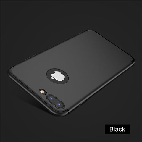 For iPhone 7 iPhone 6 6S Case Luxury Matte Soft Silicon Super Slim Phone Back Cover Cases For iPhone 6 6S 7 Plus Fundas - BLUENYLEDIRECT