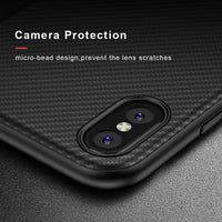 iPhone X 10 Case 2017 Luxury , Business Carbon Fiber Cover For iPhone 8 7 6 6S Plus Silicon Phone Case Accessories - BLUENYLEDIRECT