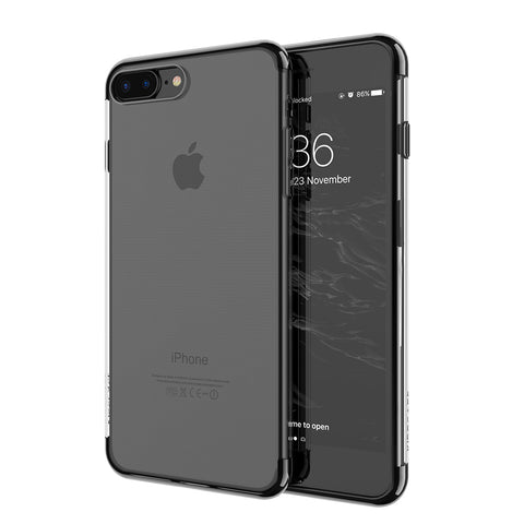 iPhone X For iPhone 6 6S Plus Case Luxury Transparent Plating TPU Phone Case For iPhone 8 7 Plus Silicon Accessories - BLUENYLEDIRECT