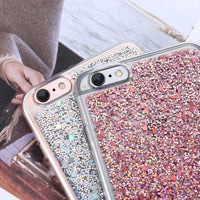 Luxury Bling Case For iPhone 6 6S Plus Glitter Paillette Sequin Phone Cases For iPhone 6S Plus Coque Clear Frame Cover - BLUENYLEDIRECT