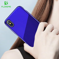 Luxury For iPhone 6 6S For iPhone 7 Plus Case Business Bright Starry Cover For iPhone X iPhone 8 Plus Cases Accessories - BLUENYLEDIRECT