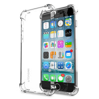 Luxury For iPhone X 8 6 6S 7 Case Anti-Knock Shockproof Crystal Clear Case For iPhone 8 7 Plus iPhone 6 6S Plus Capa Bag - BLUENYLEDIRECT