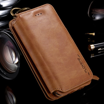 Luxury Wallet Case With 18 Card Slots For iPhone 6 6S Plus 5 5S SE For Samsung Galaxy S6 Edge Plus S7 3 4 5 Bags - BLUENYLEDIRECT