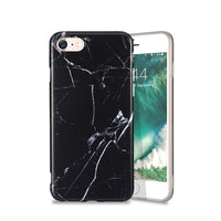 Marble Silicon Case For iPhone X 7 8 Plus iPhone 6 6S Ultra Thin Cover For iPhone X 7 8 5S SE 5 Phone Cases Accessories - BLUENYLEDIRECT