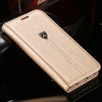 Original Brand Luxury Leather Ultra Flip Case For iPhone X 8 7 Cases Card Slot Stand Cover For iPhone 8 7 6S 6 Plus Capa - BLUENYLEDIRECT