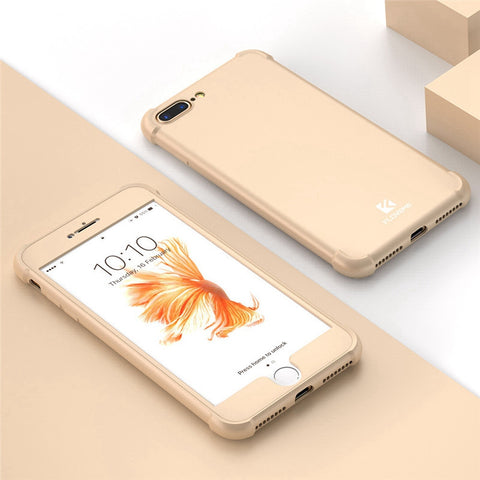 Shockproof Cases For iPhone 6 6S iPhone 7 6 Plus Case Luxury 360 Full Body Coverage Airbag Cases For iPhone 8 Plus Case - BLUENYLEDIRECT