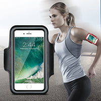 Waterproof Arm Band For iPhone 6 6S iPhone 6 Plus 6S Plus Case Brushed Sport Bag For iPhone 6 6S Arm Band Accessories - BLUENYLEDIRECT