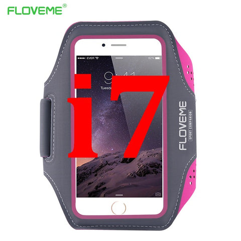 Waterproof Sport Arm Band Case For iPhone 7 For iPhone 7 Plus Workout Gym Running Arm Belt Phone Cover For iPhone 7 Plus - BLUENYLEDIRECT
