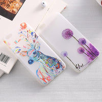 Fashion Artistic Printed Cartoon Glow In Dark Luminous Case For iPhone 6 6S 4.7 For iPhone 6 Plus 6S Plus 5.5 TPU Gel Back Cover - BLUENYLEDIRECT