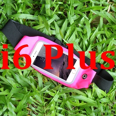For iPhone 7 Plus Waterproof Sport Gym Waist Bag Case For iPhone 6 6S Plus 4.7 5.5 Running Wallet Card Holder Mobile Phone Pouch - BLUENYLEDIRECT