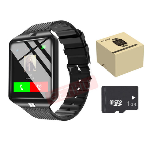 Smart Watch DZ09 Digital Wrist with Men Bluetooth Electronics SIM Card Sport Smartwatch For iPhone Samsung Android Phone