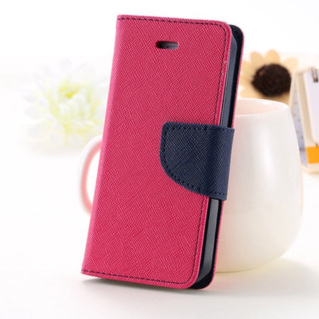 For iPhone 5S SE Phone Case Leather Flip Case For Apple iPhone 5 5S 5G Card Slot For iPhone 7 6 6S Plus Cases Accessory - BLUENYLEDIRECT