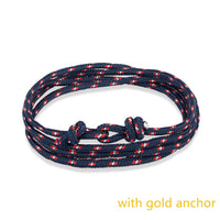 Alloy  Bracelet Multilayer Rope Bracelet for Women&Men Friendship Bracelets High Quality