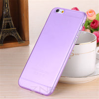 Matte Transparent Ultra-thin 0.3mm Back Full Case For iPhone 7 6 6s - BLUENYLEDIRECT