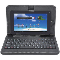 "PROSCAN PLT7770G 7"" Android(TM) 6.0 Quad-Core Internet Tablet with Case & Keyboard - BLUENYLEDIRECT"