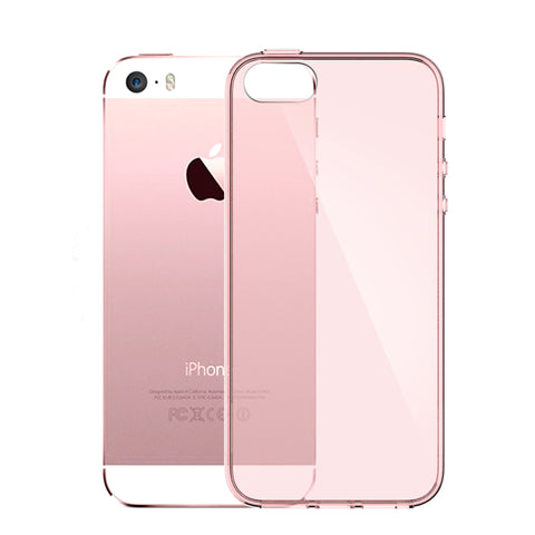 iPhone 5SE Silicone Case For Apple iPhone 5 Silicon Case Transparent 360 Supreme Black Pink 3D Mobile i Phone S SE - BLUENYLEDIRECT