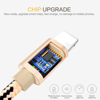 iPhone 7 Cable Fast Charger Adapter 8 Pin USB Cable For iPhone 6 6S Plus 5 5S SE iPad 2017 Air 2 Mobile Phone Cables X - BLUENYLEDIRECT
