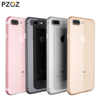 TPU Silicon Transparent Silicone Case Cover For Apple iPhone 7 Plus 7Plus iPhone 8 Plus Case - BLUENYLEDIRECT