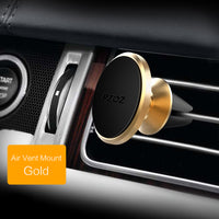 Magnetic Mobile Phone Holder 360 Degree GPS Universal Car Phone Holder For iPhone Samsung xiaomi Magnet Mount Holder Stand - BLUENYLEDIRECT