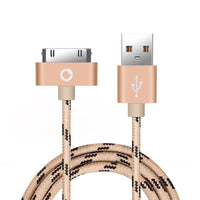 USB Cable Fast Charger for iphone 4 4s 3GS iPad iPod Nano itouch 4 30 Pin Charge adapter Cable Charging - BLUENYLEDIRECT