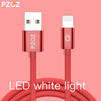 Charger  8 Pin LED USB Cable For iphone 6 S Plus 7 5 iPad Air 2 iPod Touch i6 - BLUENYLEDIRECT